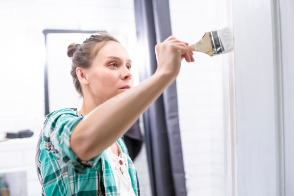 Bathrooms need painting a lot more often than most other rooms